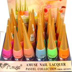 Pastel Collection Fashion Nail Polish 24 per display