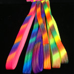 6 Pack Rainbow Color Stretch Headbands No Metal .54 ea set