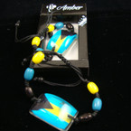 Handmade Bahama Flag Gift Boxed Bracelet .54 ea