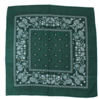 Hunter Green Color Bandana