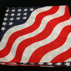 Mixed Style USA Cotton Bandana's .50 ea