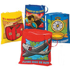 Awesome Adventure VBS Theme Lg. Tote Bag 4 styles .50 ea