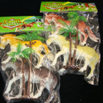 "2 Pack 5"" Farm Animal Horses  ""12-2 pks per sale"""