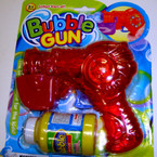 "5.5"" Hand Crank Lite Up Bubble Gun ""sold by 6 sets"""