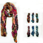 "36"" X 70"" Multi Style Fashion Print  Scarf/Wrap Around"