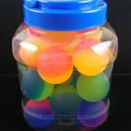 45MM Rainbow Color Icee Ball 24 per display can .35 ea