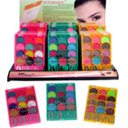 New 12 Mixed Color Eye Shadow  24 per display