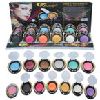 NEW Asst Great Color Baked Long Lasting Eye Shadow 36 per display