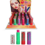 New Cutie Lips Asst Color Lip Balm 36 per display