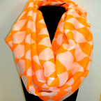 Asst Color Two Tone Infinity Scarf ON SALE