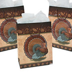 "10"" X 13"" Large Thanksgiving Turkey Gift Bags 12 per pack .36 ea"