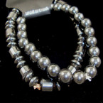2 Pack Hematite Bracelet Set BEST BUY