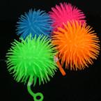 "5"" Flashing Puffer YoYo Ball 12 per display bx .75"