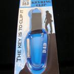 Imprinted DAD Carabiner Clip Key Chain 24 per pack .85
