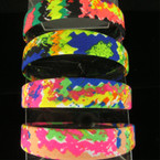 "1"" Wide Summer Splash Paint Pattern Fun Headbands .50 ea"