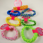 Special Knotted Sailor Stretch Bracelet Multi Colors  36 per counter display .50 ea