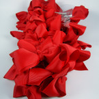 "3"" All Red Gro Grain Bow on Gator Clip 24 per pk .28 each"