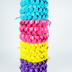 Colorful Braided Cord Fashion Bracelet .54 ea 4 colors
