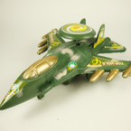 "6"" Camo Print Toy Fighter Jet sold by 12 pcs  .58 ea"