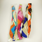 3 in 1 Use Multi Print & Color Headband .54 ea
