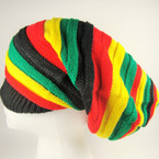 Tall Style Rasta Color Knit Cap $ 3.00 ea