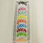 10 Pk Colorful Star Shaped Toe Rings .54 per set
