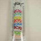 10 Pk Colorful Heart Shaped Toe Rings .54 per set