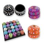 "2"" Casablanca Jeweled Trinket  Box 25 per pack .85 ea"