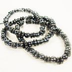 Great Value 3 Pack Hematite Stretch Bracelets  ONLY .54 per set