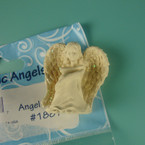 "1.25"" Angel Sitting Magnet/Figurine 12 per bx .37 each"