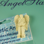 "1.75"" Angel w/ Cat Magnet/Figurine 12 per bx .37 each"