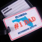"2.5"" X 4"" Heavy Duty # 1 DAD Florida Luggage Tag 12 per pk .90 ea"