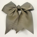 "5"" X 6"" Big Gro Grain Bow on Gator Clips w/ Tails .56 ea All Dark Olive"