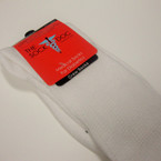 Medical White Crew Socks for Diabetics Men size 10-13  .79 ea pr