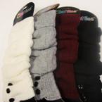 Hi Fashion Ribbed Knit Leg Warmers Asst Colors $ 2.50 ea pr