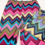 Multi Color Chevron Print Leggings Sold by 6 pc pack 2 colors  $ 3.00 ea