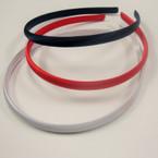 Thin Satin Headbands 4 Colors 36 pcs per pack .18 per headband