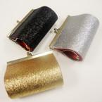 "3"" Sparkle Metalic Color Snap Closure Coin Purse 4 colors  w/  .56 ea"