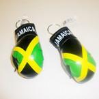 "3.5"" Jamaica Flag Boxing Glove Keychain .54 ea"