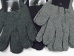 Knit Winter Magic Gloves Greytones & Black .50 ea pair