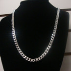 Ladies Silver Open Link Fashion Chain Necklace .57 ea