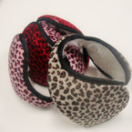 Ear Muffs Wrap Behind The Head Leopard Prints Asst Colors Only  .40 ea
