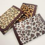 Animal Print Tri Fold Wallet Mixed Prints .62 ea