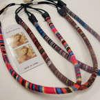 Tube Style Tribal Print Headband w/ Elastic Back .54 ea