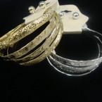 Kid's 4 Pk Gold/Silver Bangle Set w/ Earrings .50 per set