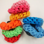 Popular 3 Pack Braided Shoelace Hair Twisters .54 per set