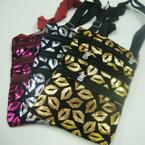 """6"""" X 8"""" Zip Pattern 3 Zipper Messenger Bag w/ Lg. Strap $ 1.00 ea"""