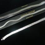 Great Buy Silver Herringbone Bracelets Mixed styles Only .50 ea