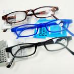 Asst Color Basic Style Plastic Reading Glasses .60 ea