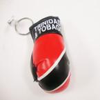 "3.5"" Trinidad & Tobago Flag Boxing Glove Keychain .54 ea"